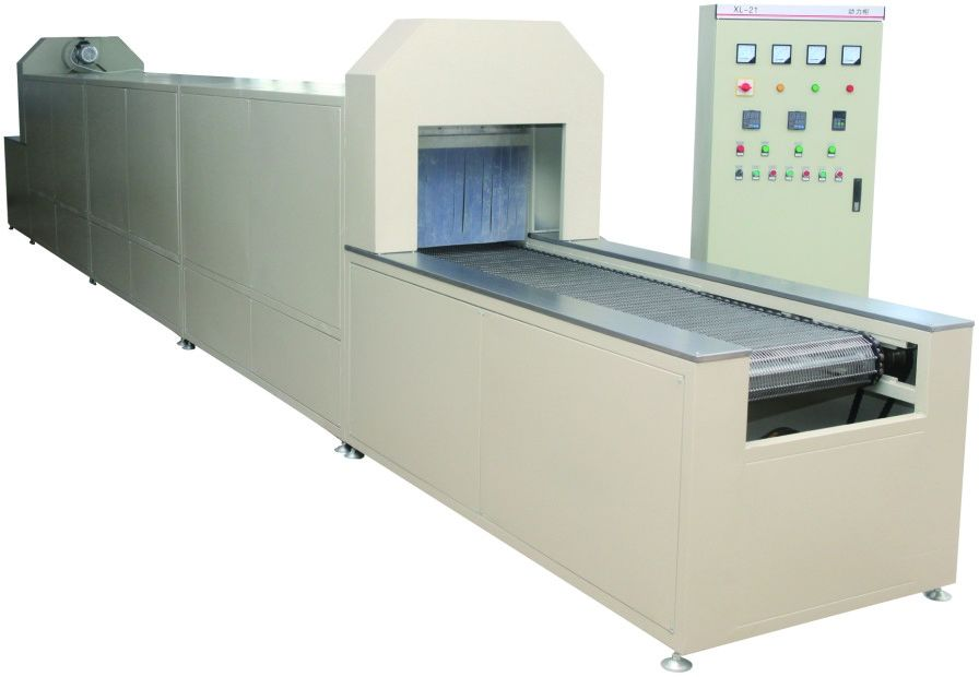 Through Type Oil Filter Making Machine 400mm Height Curing Oven Production Line