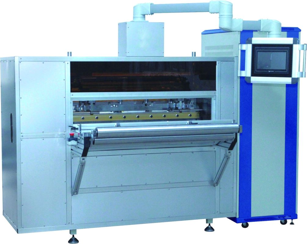 High Speed Filter Paper Pleating Machine , 380v / 50hz Rotary Pleating Machine